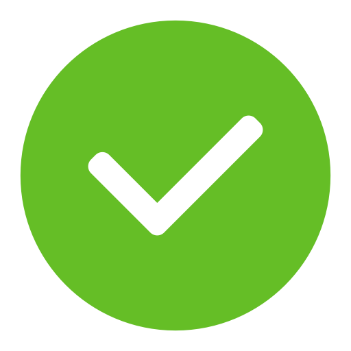 White-Check-In-Green-Circle
